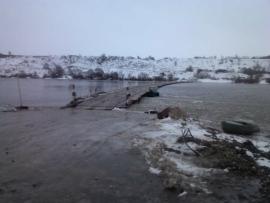 В Рязанской области восстановлено движение по двум понтонным мостам