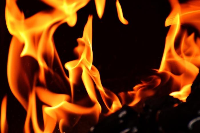 В Сасове сгорел дом