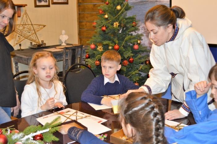 Юные рязанцы встретили «Рождество на Аляске»