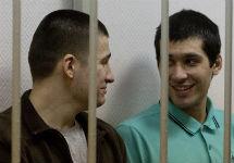 Алексей Полихович и Андрей Барабанов в суде. Фото Ю.Тимофеева/Грани.Ру