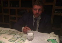 Никита Белых после задержания. Фото СКР