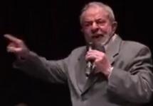 Луис Инасиу Лула да Силва. Кадр видео с личной ФБ-страницы
