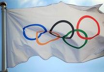 Флаг Международного олимпийского комитета