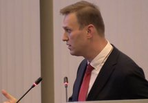"""Алексей Навальный на заседании ЦИКа. Кадр """"Навальный live"""""""