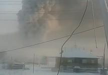 Пожар в якутской ИК-7. Кадр видео из инстаграма @crimyakutia_ru
