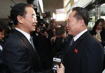 Встреча министров Южной Кореи и КНДР. Фото: yonhapnews.co.kr