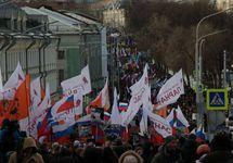 Марш Немцова. Фото: Дмитрий Борко/Грани.Ру