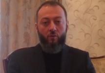 Магомед Хазбиев. Кадр видеообращения, 09.01.2018