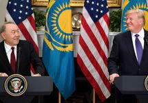Нурсултан Назарбаев и Дональд Трамп. Фото: akorda.kz