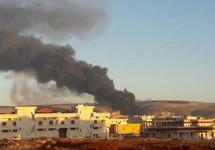 После турецкого удара по городу Африн. Фото: kurdistan24.net