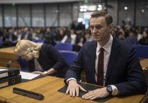 Алексей Навальный в ЕСПЧ. Фото: Евгений Фельдман