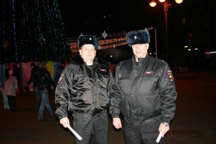 Новогодняя ночь в Рязанской области прошла без нарушений – полиция