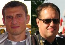 Юрий Павловец и Дмитрий Алимкин. Коллаж Граней.Ру