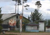 Трудовой лагерь КНДР на Дальнем Востоке. Кадр видеозаписи