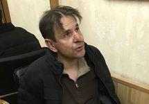 Борис Гриц после задержания. Фото Виталия Рувинского