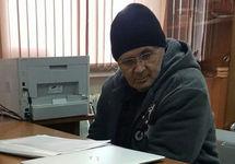 Оюб Титиев в Курчалойском ОМВД. Фото Ильи Новикова