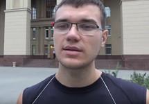 "Станислав Бабанов. Кадр видео ""Кавказского узла"""