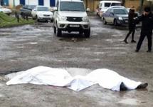 После расстрела в Кизляре. Фото: chernovik.net