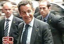 Николя Саркози. Кадр CBS
