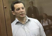 Роман Сущенко в суде, 25.09.2017. Фото: @FeyginMark