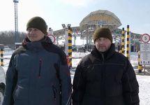 Богдан Марцонь и Игорь Дзюбак после освобождения. Фото с ФБ-страницы Ирины Геращенко