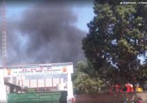После атаки в Уагадугу. Кадр видео