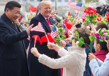 Си Цзиньпин и Дональд Трамп в Пекине. Фото: whitehouse.gov