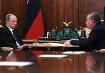 Владимир Путин и Игорь Сечин. Фото: kremlin.ru
