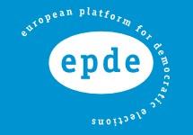 """Эмблема """"Европейской платформы за демократические выборы"""""""