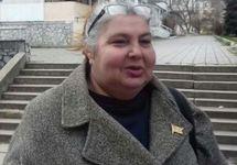 Лариса Китайская после апелляции. Фото: krymr.com