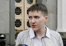 "Надежда Савченко. Кадр телеканала ""112"""