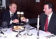 Владимир Путин и Герхард Шрёдер. Фото: kremlin.ru