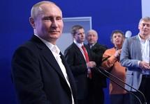 Владимир Путин на пресс-конференции после выборов. Фото: kremlin.ru
