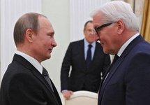 Владимир Путин и Франк-Вальтер Штайнмайер. Фото: kremlin.ru