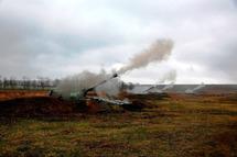 Артиллерийские стрельбы. Фото: mil.ru