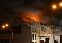 Пожар в ТРЦ в Кемерове. Фото: a42.ru