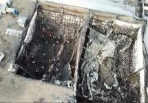 """Здание ТРЦ """"Зимняя вишня"""" после пожара. Фото t.me/russica2"""