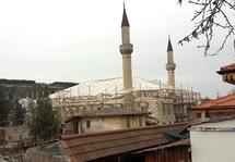 Большая ханская мечеть в лесах. Фото: qha.com.ua