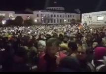 Митинг в Волоколамске 29.03.2018