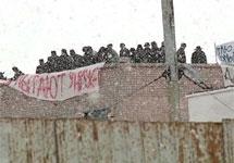 Протестующие зэки в Копейске. Фото: vesti.ru