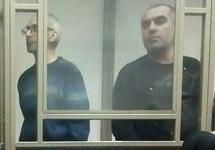 Рамзан Белялов (слева) и Магомед Маздаев перед выступлениями с последним словом. Фото: kavkaz-uzel.eu