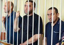 Зеври Абсеитов, Энвер Мамутов и Ремзи Меметов (слева направо). Фото: svoboda.org