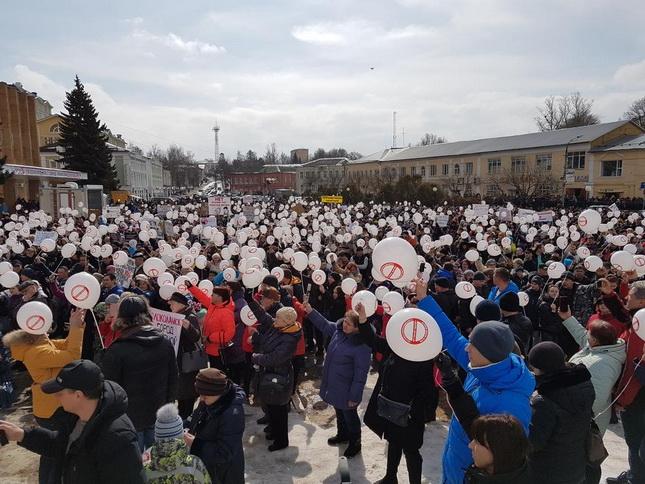 Задержанный экоактивист Любимов объявил голодовку