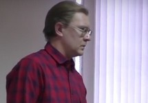 """Александр Бывшев в суде, 26.12.2017. Кадр """"Граней"""""""