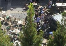 На месте теракта в Мюнстере. Фото: @pauli_feger