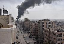 В городе Дума после бомбежки, 20.03.2018. Фото: Anadolu