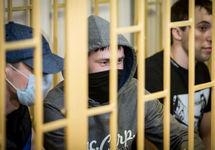 Приморские партизаны в суде, 10.04.2018. Фото: primamedia.ru