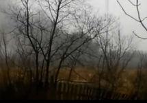 На месте падения вертолета в Хабаровске. Кадр видео
