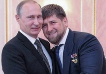 Владимир Путин и Рамзан Кадыров. Источник: stav.kp.ru