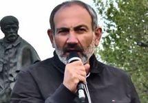"Никол Пашинян на митинге, 15.04.2018. Кадр видео ""Радио Азатутюн"""